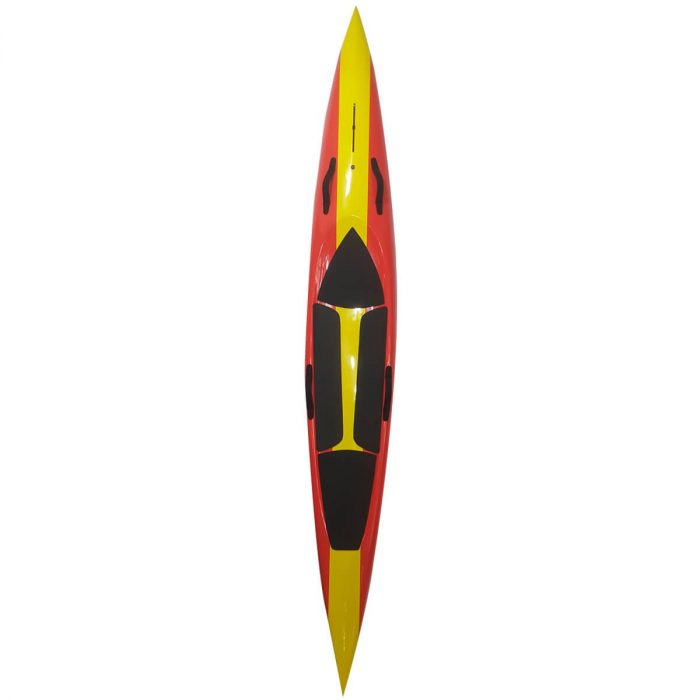 12ft Race Board Red Yellow